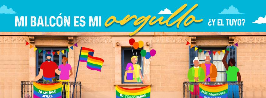 Orgullo 2020: Mi Balcón mi orgullo