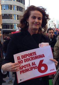 La activista trans feminista Carla Antonelli