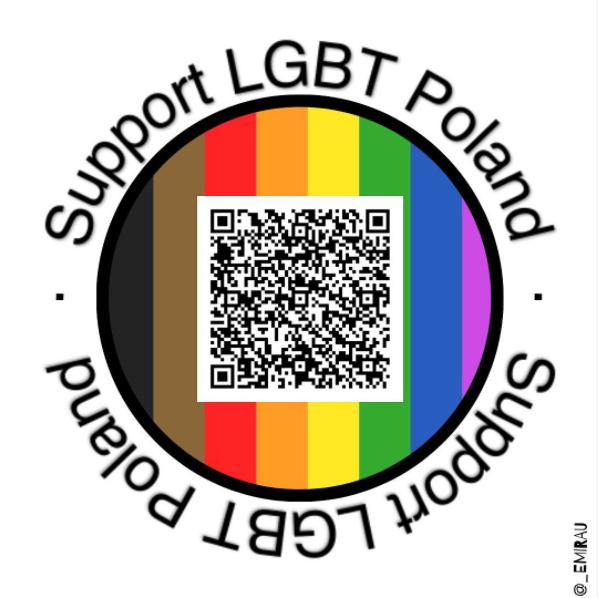 Pegatinas del año 2020 Support LGBT Poland